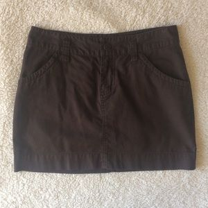 Brown Old Navy cotton skirt